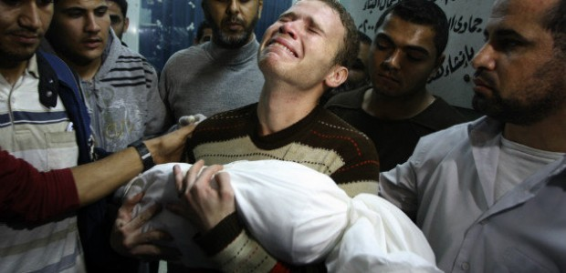 Photo: Jihad Misharawi, BBC Arabic Correspondent, carries his son's body at a Gaza hospital. (AP) TAKE ACTION FOR GAZA: Stop the bombs, stop the siege, stop the blank check [November […]