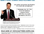 Josh Ruebner, National Advocacy Director of the US Campaign to End the Israeli Occupation, will be in the Twin Cities to discuss his bookShattered Hopes: Obama's Failure to Broker Israeli-Palestinian […]