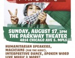 MN Break the Bonds is co-sponsoring a benefit concern on Sunday, August 17 that is raising funds for humanitarian aid to Gaza through music and solidarity. The show runs from […]
